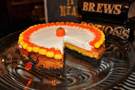 oreo candy corn cheesecake recipes for halloween party ideas by