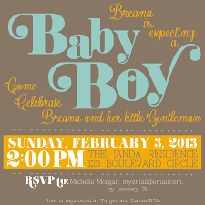 photo baby shower invitations at image