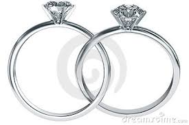 intertwined wedding rings 2 diamond rings intertwined wedding promise diamond