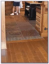 Hardwood Floor Transition Tile To Wood Floor Transition Doorway Tiles Home Decorating