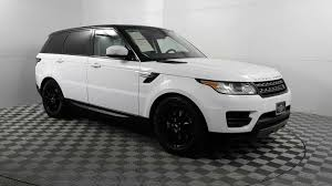 range rover white 2017 used 2017 land rover range rover sport 3 0l supercharged se stock