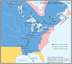 Map Of West Coast Of America And Canada by British Atlantic American Frontier Canadian American Center