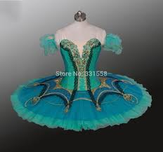 fast shipping new green ballet tutu professional classical
