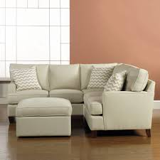 apartment size sofas and loveseats living room small space sectional with polkadot pillow sofa for