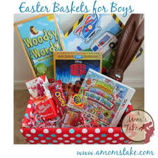 easter basket boy 50 ideas to fill an easter basket a s take