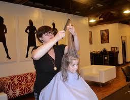first haircut jennysue makeup