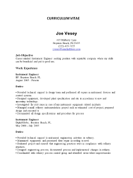 instrument design engineer resume free resume example and
