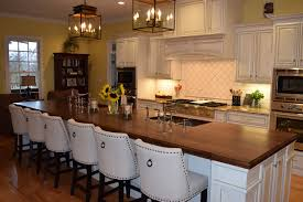 kitchen island wood countertop countertops brun millworks