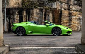 Lamborghini Huracan Lime Green - 2016 lamborghini huracan spyder review first impressions pov