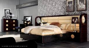 Stylish Bedroom Designs Bedroom Designs With Stylish Leather Bed Home Interior Design
