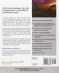 oca oracle database 11g sql fundamentals i a real world