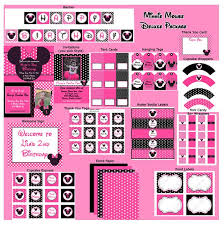 42 best minnie mouse birthday party images on pinterest birthday