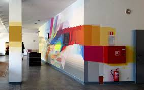 forwall decorate your home wall murals idolza interior paintings syruc personal network spatial glitch macoscope warszawa mural building interior design pictures