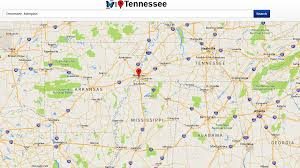 Tennessee Map Of Cities by Tennessee Map Android Apps On Google Play