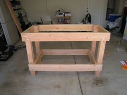 garage workbench plans for building workbench in garage awesome