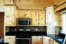 knotty pine kitchen cabinets painted knotty pine kitchen cabinets