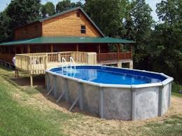 Average Backyard Pool Size 40 Uniquely Awesome Above Ground Pools With Decks