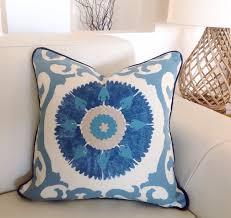 Suzani Designer Pillows Hamptons Cushions Hamptons Pillows