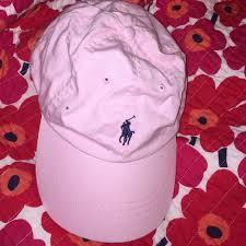light pink polo baseball cap light pink ralph lauren cap pink polo cap with navy horse ralph