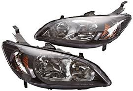 honda civic headlight amazon com spec d tuning 2lh cv04jm rs honda civic 2 4dr dx lx ex