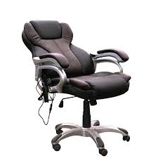 Leather Executive Desk Chair Massage And Heat Office Chairs With Massage And Heat Office Chair