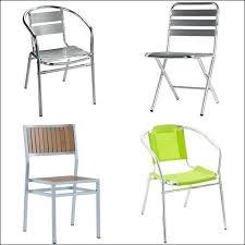chaise jardin aluminium chaise aluminium pas cher mobilier chaise de jardin aluminium pas