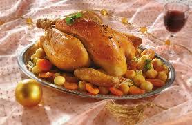 cuisiner un chapon farci plat de resistance chapon farci accompagné de gratin de
