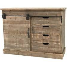 meuble cuisine bois bahut console commode meuble de cuisine bois cagne industriel 111