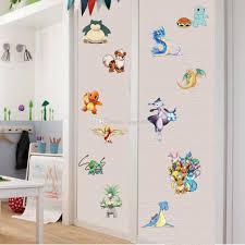 Wallpaper For Kids Room Poke Wall Stickers Cartoon 3d Wallpapers Wall Decals Children