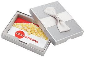 amc theatre gift card amc theatres 50 gift card in a gift box product stockup