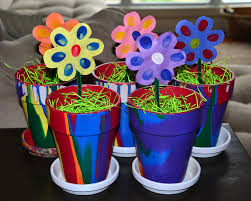 flowers for mothers day easy thumbprint flowers for mother u0027s day in lieu of preschool
