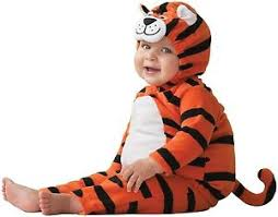 Baby Tiger Costumes Halloween Carters Infant Baby Tiger Costume 3 6 Month Nwt 38 Ebay
