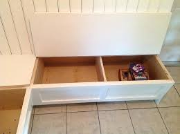dining room benches with storage banquette bench with storage how to build a banquette storage bench