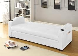 canape convertible coffre rangement faro blanc canapés convertibles salon salle à manger