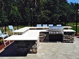Outdoor Grill With Quartz Countertops In Wilmington NC - Outdoor furniture wilmington nc