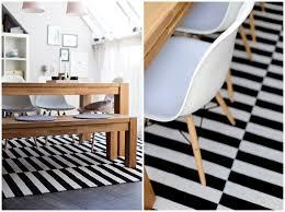 teppich skandinavisches design trendiger teppich ikea stockholmwiener wohnsinn