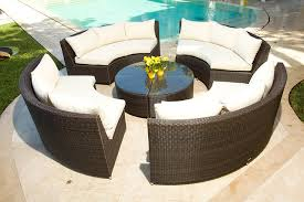 Round Patio Furniture by Decoration Outdoor Sectional Patio Furniture Native Home Garden