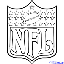nfl team logos coloring pages getcoloringpages com