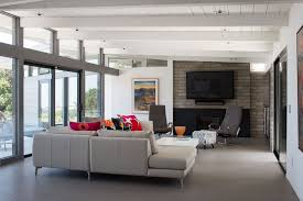 modern a contemporary remodel of a mid century home photo on