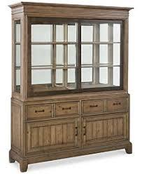 2 Piece China Cabinet Curio Cabinets And China Cabinets Macy U0027s