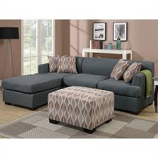 Coaster Sectional Sofa Poundex Bobkona Winfred 2 Piece Reversible Sectional Sofa In Blue