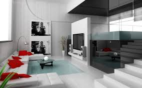 living room decor high gloss brown finish wooden flooring