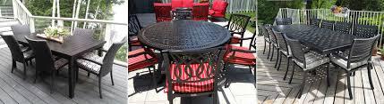 Patio Dining Sets Toronto - dining sets sunguard awnings u0026 patio furniture serving toronto