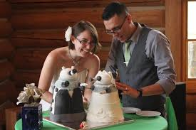 17 amazingly geeky wedding cakes mental floss