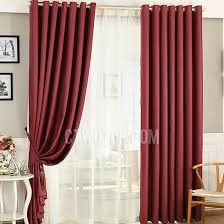 Wine Colored Curtains Adorable Wine Colored Curtains And Pink Polycotton Blend