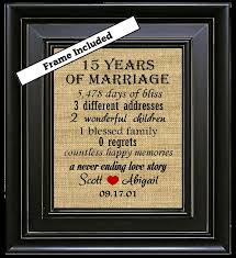 15th wedding anniversary gifts for best 25 15th wedding anniversary ideas on 15 year