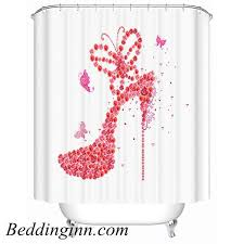 Shower Curtains With Red 48 Trending Kid U0027s Shower Curtains You Can U0027t Resist Buying