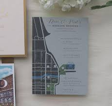 chicago wedding invitations dara paul s chicago wedding invitation suite charm fig