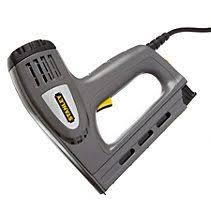 Electric Staple Gun Upholstery Arrow Fastener 6 In Electric Stapler And Brad Nailer Upholstery