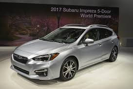 small subaru hatchback all new 2017 subaru impreza priced from 19 215